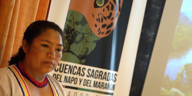 Guardianes indígenas de Ecuador y Perú conservarán cuencas sagradas
