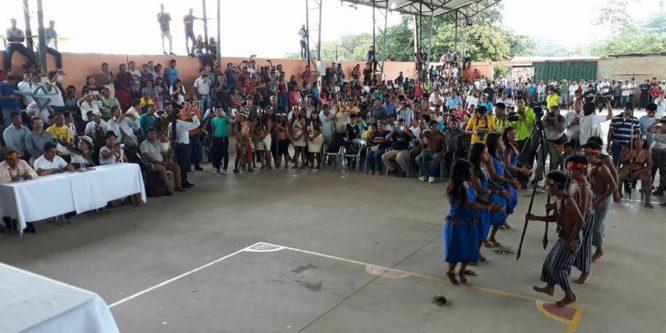 Conaie y Confeniae tras solución de paro obrero indígena en Orellana