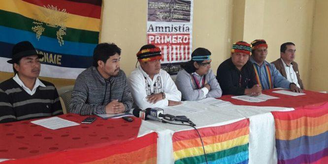 Nuestro rechazo a resolución de la Comisión de Justicia de la Asamblea Nacional sobre pedido de Amnistías