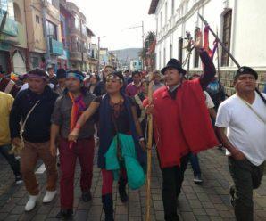 """""""Marcha por un diálogo con resultados"""" suma 8 días de caminata hacia la capital"""