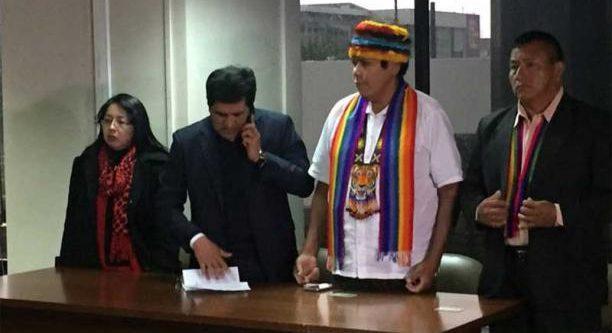 CONAIE rechaza rotundamente injusta sentencia contra Pepe Acacho