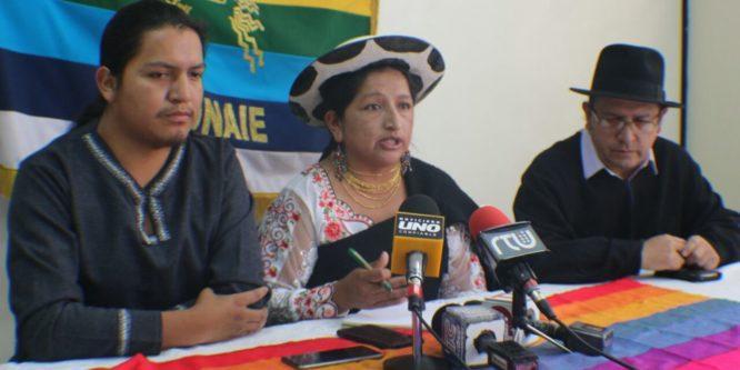 CONAIE no volverá a presentar pedido de Amnistía a la Asamblea Nacional