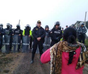 Campamento minero en Río Blanco fue incendiado por seguridad y Policía Nacional