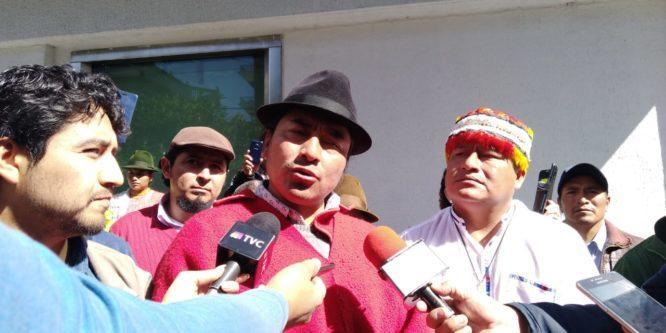 Leonidas Iza Salazar, dirigente indígena, enfrenta 5 acusaciones por administrar justicia indígena