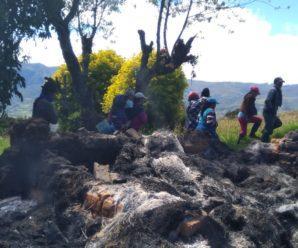 Queman casa y animales de comunero en la Provincia de Cotopaxi