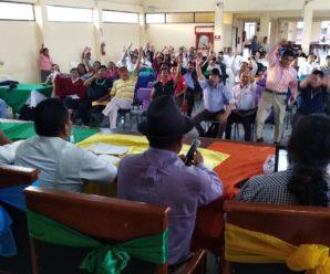 Resoluciones del Consejo Ampliado de la CONAIE efectuado en Macas