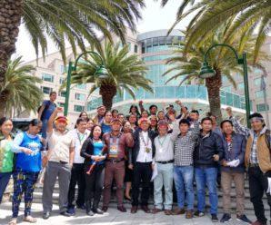 Nacionalidades del centro sur rechazan la XI Ronda Petrolera y declaraciones del minstro de hidrocarburos