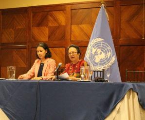 Relatora sobre derechos de los pueblos indígenas de Naciones Unidas observa falta de cumplimiento a derechos de los pueblos indígenas en Ecuador