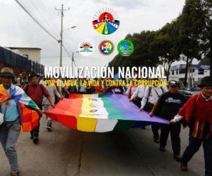 Movilización Nacional convocada por CONAIE llega a Quito