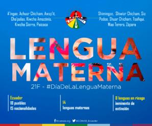 La CONAIE en el Día Internacional de la Lengua Materna