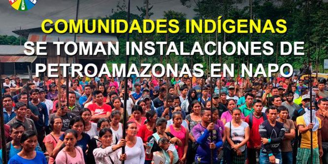 La CONAIE inicia acciones territoriales en preparación de la Gran Movilización Nacional contra el Gobierno