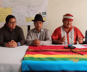 La CONAIE NO será parte del Acuerdo Nacional 2030