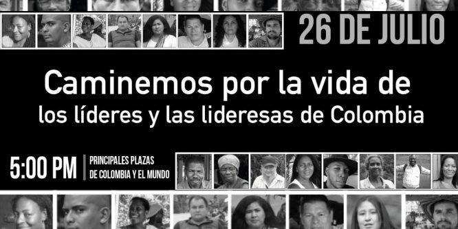 LA CONAIE RESPALDA LA MOVILIZACIÓN POR EL FIN DE LA VIOLENCIA EN COLOMBIA