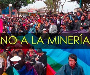 La CONAIE condena el inicio de la minería a gran escala y desconoce supuestos acuerdos con empresas mineras