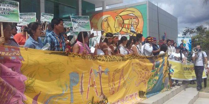 La Conaie rechaza criminalización a Cristian Aguinda Pilla y denuncia políticas de seguimiento a organizaciones y líderes sociales