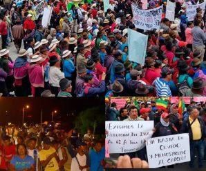 La CONAIE frente a las recientes acciones de lucha territoriales