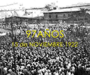 97 años de la masacre de obreros de 1922