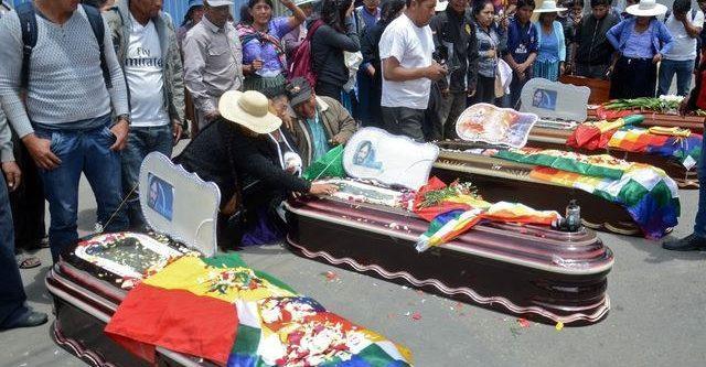LA CONAIE condena la masacre al pueblo boliviano