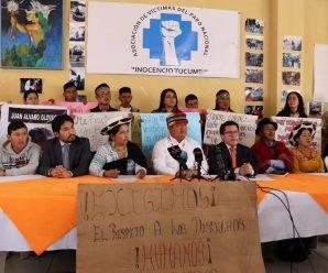 """La CONAIE conforma la Asociación de Víctimas del Paro Nacional """"Inocencio Tucumbi"""""""