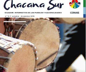 Revista digital Chacana Sur #8