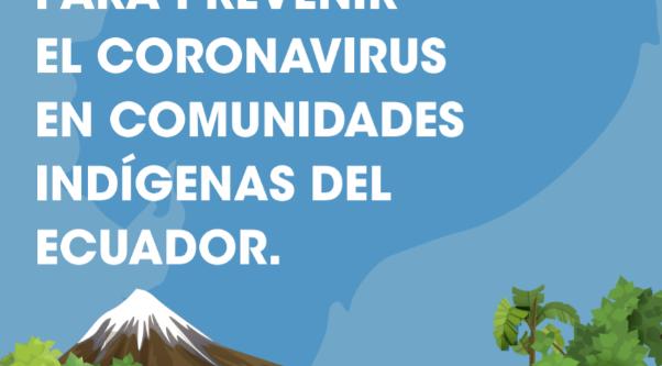 Indicaciones para prevenir el coronavirus en Comunidades Indígenas