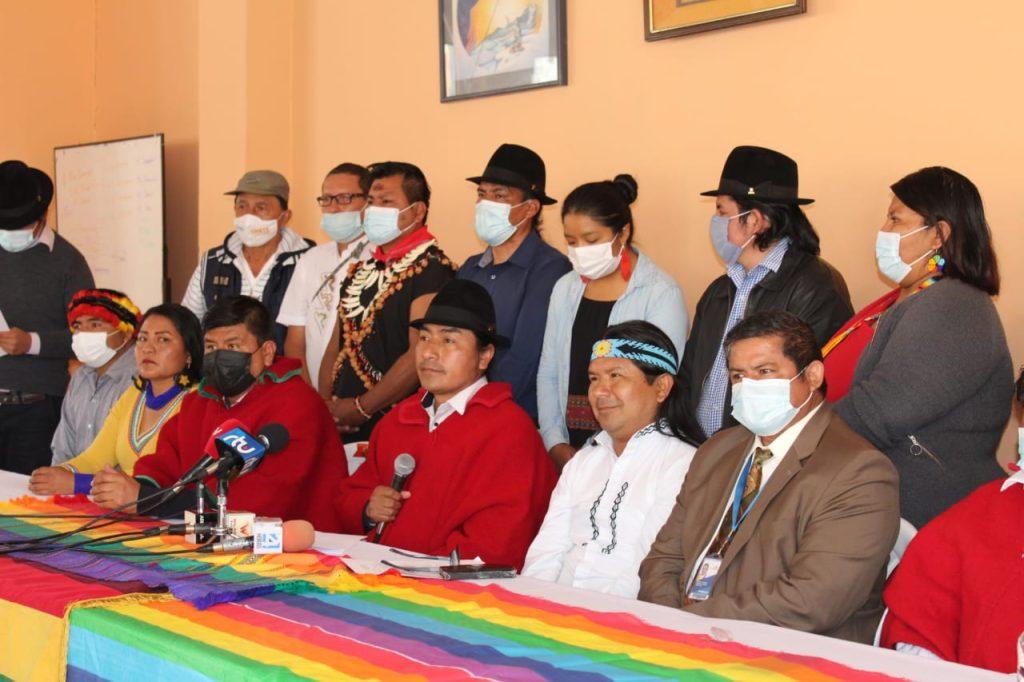 Unidad entre la CONAIE y Pachakutik para fortalecer al movimiento indígena